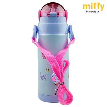 MIFFY米菲 新品儿童软吸管保温杯 不锈钢真空婴幼儿防漏保温水壶  MF-S252