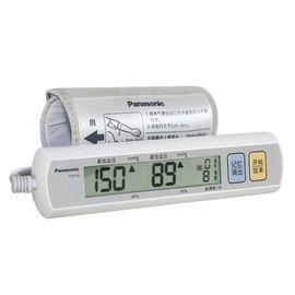 Panasonic 松下 EW3108 纤巧型上臂式电子血压计 一键操作 便于携带 血压偏高闪烁提示  90次数据记忆