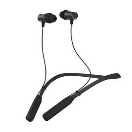 致奥 运动蓝牙耳机颈挂耳塞式适用360N5S努比亚Z17三星S8oppor11小米Max2 魅力黑