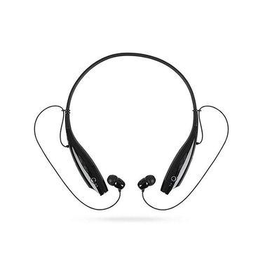 致奥 运动蓝牙耳机颈挂式入耳立体声通用型适用坚果vivo苹果7华为oppor9s 手机音乐 【语音提示+电量显示】