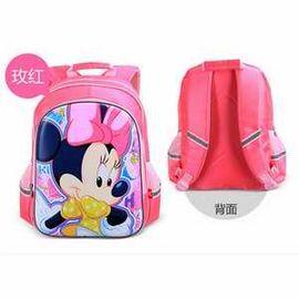 迪士尼(Disney)米奇/米妮儿童书包 1-6年级小学生书包