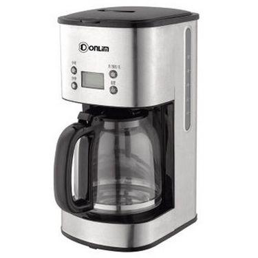东菱(Donlim) 咖啡机 家用半自动高硼硅玻璃壶 微电脑美式滴漏咖啡机 CM-4216