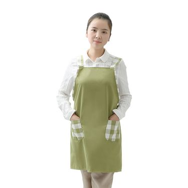 FASOLA 背带式围裙 工字背围裙 韩式烘焙围裙