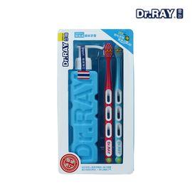 雷治 泰国进口牙膏牙刷套装美白口腔护理去牙渍烟渍口臭按泵压式液体膏 个人洗护 牙膏 牙刷