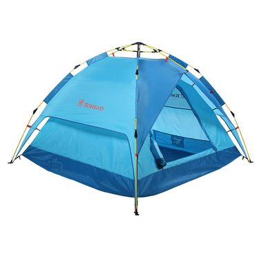 TOREAD 探路者 户外三人免搭速开双层帐篷 ZEDF80746