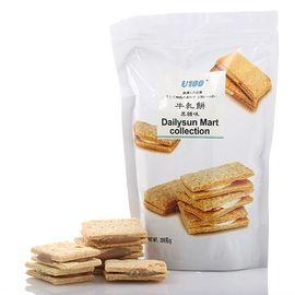 中粮 U100牌黑糖牛轧饼干200g(香港进口 袋)