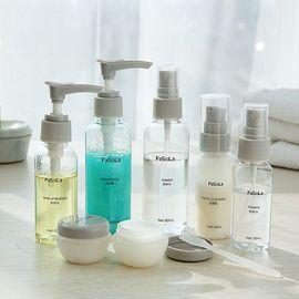 FaSoLa分装瓶旅行套装化妆品洗发水沐浴露便携喷瓶六件套