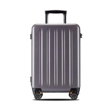 多伦保罗DUOLUPIO超轻商务PC拉杆箱密码行李箱旅行箱万向轮-拉链版