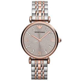 EMPORIO ARMANI 阿玛尼 (Emporio Armani)手表钢制表带时尚休闲简约石英女士腕表AR1840