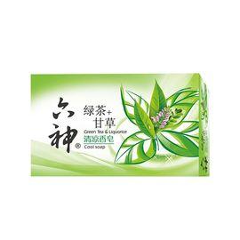 六神 清凉香皂(绿茶+甘草)125g(新老包装随机发货)