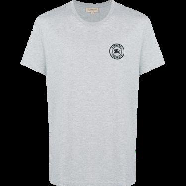 BURBERRY /博柏利 刺绣徽标棉质黑色男士T恤衫#8004254 联正国际