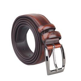 君华仕GENVAS 腰带男士皮带男士针扣皮带GS70603