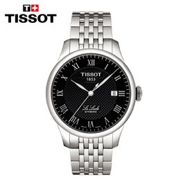 TISSOT 天梭瑞士手表 力洛克系列商务休闲机械男表 T006.407.11.053.00 新款