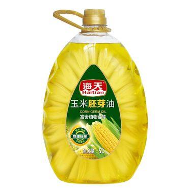 海天 玉米胚芽油5L(非转基因)