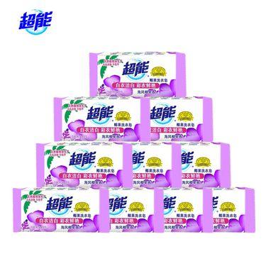 超能 海风椰果洗衣皂200g*10块 肥皂
