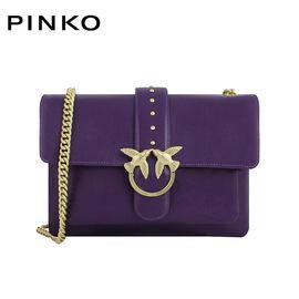 PINKO /品高 女士时尚单肩链条燕子包1P216T Y4YM 深紫色 洲际速买
