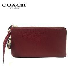 COACH /蔻驰 女士钱包F54056 手拿包 红色 洲际速买