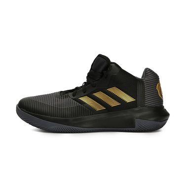 阿迪达斯 Adidas 男鞋2018秋季新款运动鞋罗斯实战防滑篮球鞋BB7667