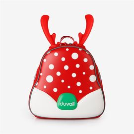 DUVALL 杜瓦尔儿童书包可爱卡通鹿角双肩透气减负宝宝幼儿园背包
