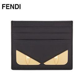 FENDI 芬迪 女士小怪兽短款卡包钱包  黑色7M0164SQPF0KUR 洲际速买