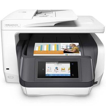 惠普 /hp 8730 彩色喷墨一体机 自动双面打印双面扫描双面复印 无线打印机一体机彩色打印复印一体机无线照片打印机