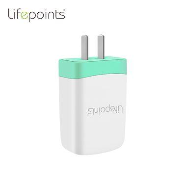 lifepoints/生活易点 四口USB充电头苹果安卓手机通用旅行充 三色可选