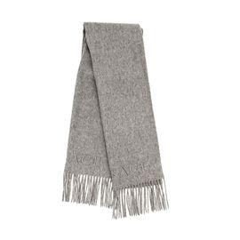 VERSACE 范思哲定制羊毛纯色围巾