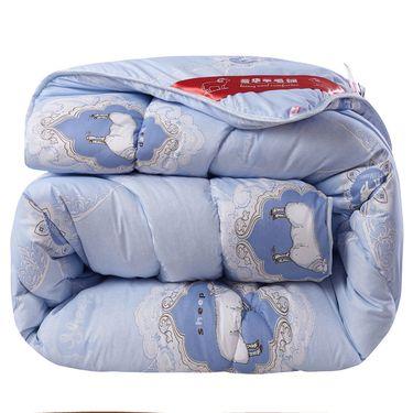 沁园 羊毛被澳毛被芯春秋被双人被子1.8米床被芯棉被保暖加厚冬被1.5m床