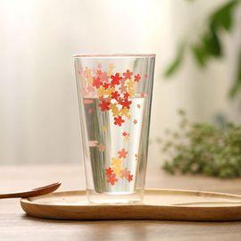 俊文轩 日本樱花玻璃水杯酒杯 粉嫩少女心品茶清酒樱花杯