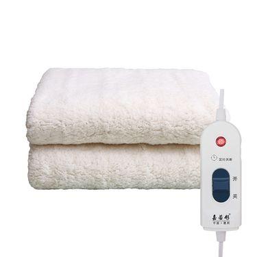 嘉若彤 特大毛绒电热毯 防水防辐射安全电暖毯健康除螨水暖毯LP-168