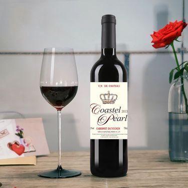 COASTEL PEARL 法国原酒进口红酒 贝勒侯爵干红葡萄酒750ml