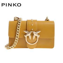 PINKO /品高 MINI LOVE 女士时尚单肩斜挎燕子包链条包 多色可选 洲际速买