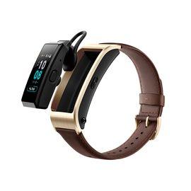 华为 手环 B5 (蓝牙耳机+智能手环+心率监测+彩屏+触控+压力监测+Android+IOS通用+运动手环) 商务版