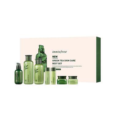 innisfree/悦诗风吟 绿茶三件套水乳小绿瓶精华套盒限量版护肤套装 buyer