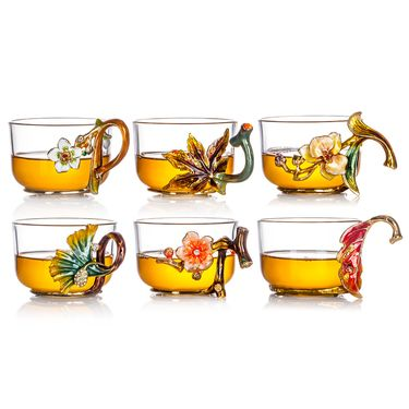 罗比罗丹 水具(花之语六杯)