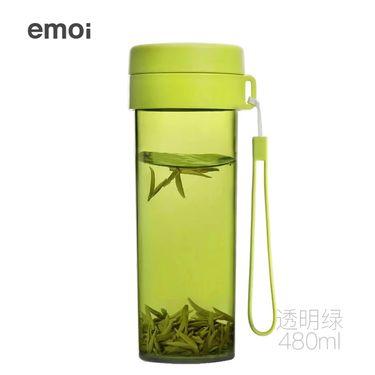 emoi /基本生活 H1081/H1082随身杯茶杯男女便携耐摔防漏带手提绳塑料带水杯水瓶