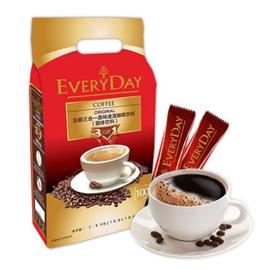 中粮 【全新升级】Everyday沃爵三合一原味速溶特浓咖啡100条(马来西亚进口 袋)