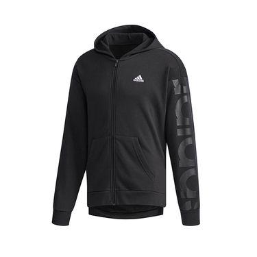 阿迪达斯 Adidas 男外套2018冬季新款加绒休闲防风运动服夹克DH3992