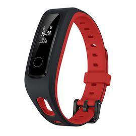 荣耀 华为 手环4Running版智能运动手表防水跑步通话提醒计步器蓝牙手环3安卓男女肆意红