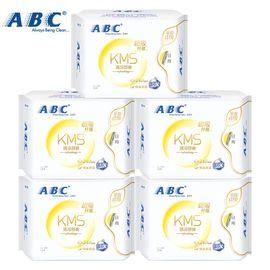 ABC 卫生巾 8片装 棉柔清爽透气日用姨妈巾组合5包共40片