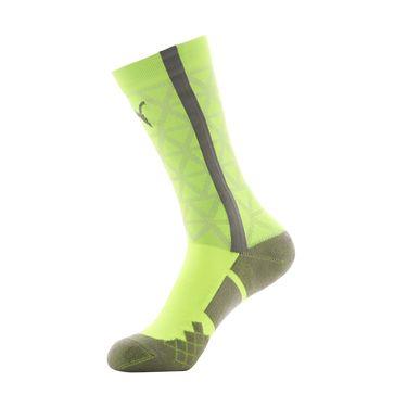 彪马 运动袜 彪马PUMA 吸湿排汗 男款荧光黄运动袜一双装 基本系列