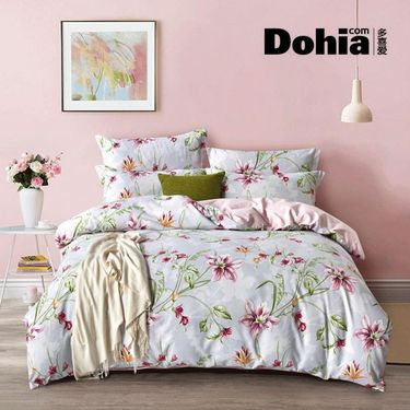 Dohia/多喜爱 美眠康 钻石绒床单式四件套 罗兰香恋 200*230cm