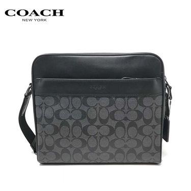 COACH 蔻驰(COACH)新款男士单肩包斜挎包时尚男包 多色可选 洲际速买