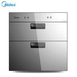 美的 (Midea) 90L不锈钢 独立双模 轻触按键消毒柜 MXV-ZLP90QD301