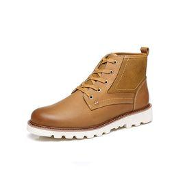 Ever UGG 澳洲直邮everugg2018秋冬时尚新款小贝工装男鞋11588
