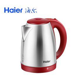 海尔 Haier  电水壶 304不锈钢热水壶 电热水壶大容量1.8L HKT-T081R
