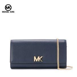 Michael Kors  迈克·科尔斯Michael Kors MOTT系列女士 时尚logo单肩斜挎链条翻盖包 洲际速买