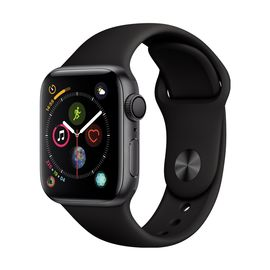Apple/苹果 Watch Sport Series 4智能手表 GPS款 40毫米深灰色铝金属表壳配黑色运动型表带