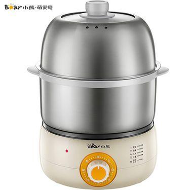小熊 ZDQ-B14J1蒸蛋器蒸鸡蛋羹器煮鸡蛋器双层小早餐机神器