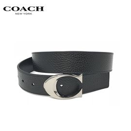 COACH 蔻驰coach皮带男士休闲商务腰带宽版双面两用 洲际速买